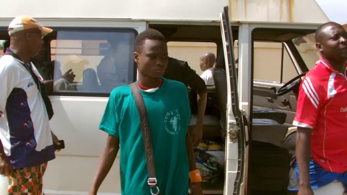 arrivée à Oumako