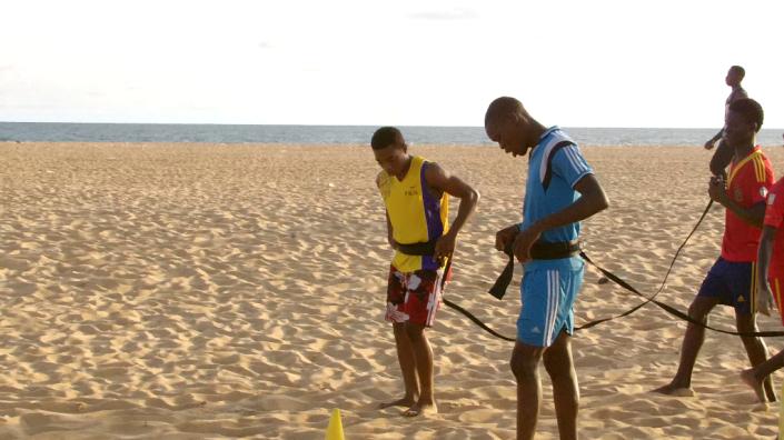 alodo sports - entrainement plage