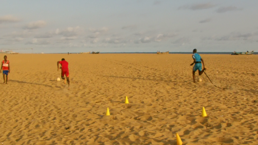 alodo sports - entrainement plage