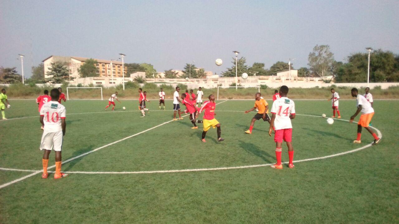 Les jeunes d'Alodo Sports Mobilisés et motivés