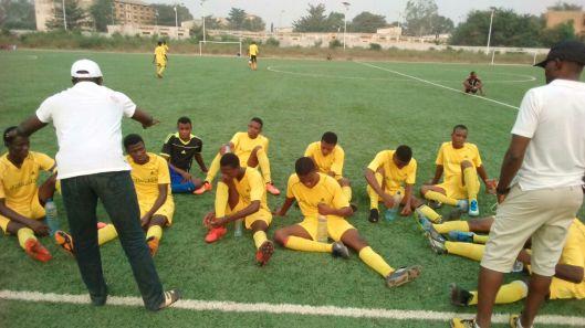 Alodo Sports - ici à la pause (18 fev 2017 vs Cnfs Ouidah)