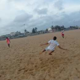 training beach 1