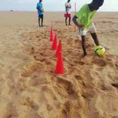 training beach 4