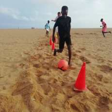 training beach 5